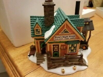 1997 Dept. 56 Steen's Maple House New England Village Series