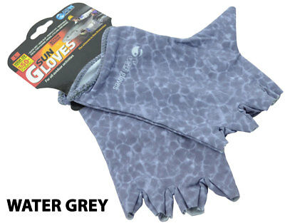 Sun Gloves UPF 50+ Extra Large Grey - AFN