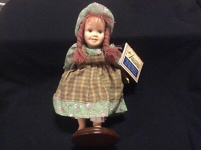 Americana Collection Hand Painted Porcelain Doll