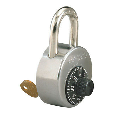 Master Lock High Security Combination Padlock with Control Key, 2010