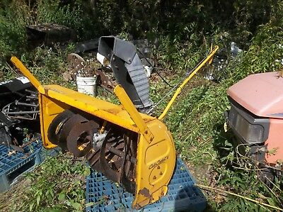 "Used Cub Cadet 2 Stage 42"" Tractor Lawn Mower PTO Snow Blower"
