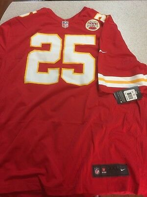 681a3ef75 Kansas City Chiefs Jamaal Charles Jersey Nike OnField Size 3XL Authentic   100