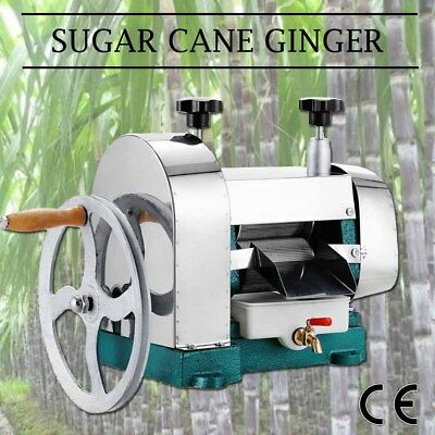 Manual Sugar Cane Ginger Press Juicer Cast Iron Stainles Ess Steel Juice Machine