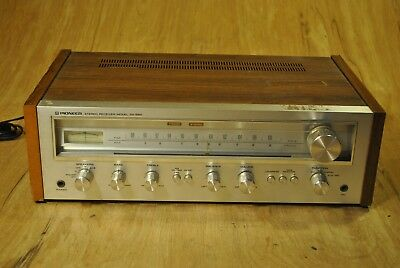 Pioneer SX 550 AM FM Stereo Receiver Vintage Radio Theater