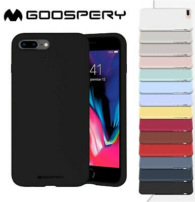 iPhone 7 8 Plus Case 6 6s Silicone Soft Cover Bumper Shockproof Apple