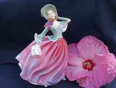 Royal Doulton AUTUMN BREEZE Pretty Ladies  figurine HN4716 Hand painted