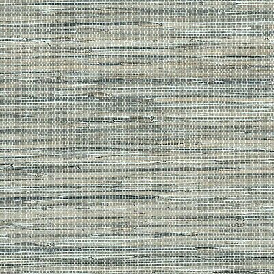 Norwall Textures 4 Faux Grasscloth Wallpaper Blue Double Roll