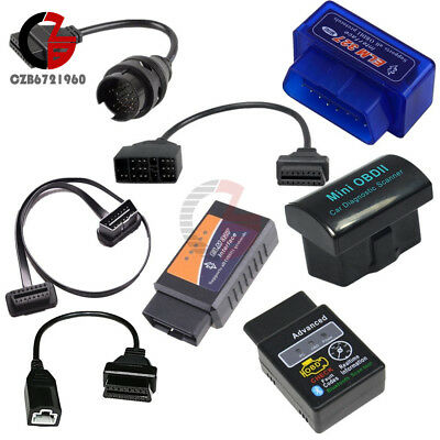ELM327 OBD2 3Pin 16 22 38 Pin Cable Bluetooth Car Diagnostic Wireless Scanner