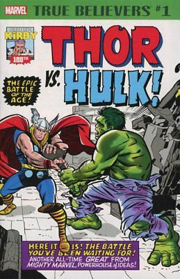 True Believers: Jack Kirby 100th - Thor vs Hulk
