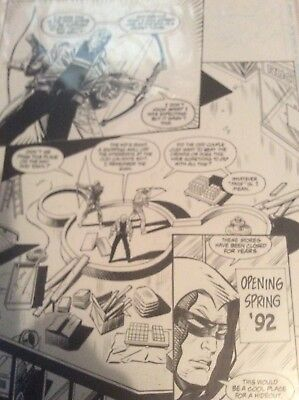 Jim Aparo Green Arrow #93 Original Page Art