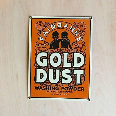 Fairbank's Gold Dust Porcelain Sign