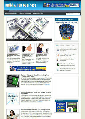 Build A Plr Business Website With Uk Affiliate Store & Banners Plus Free Domain