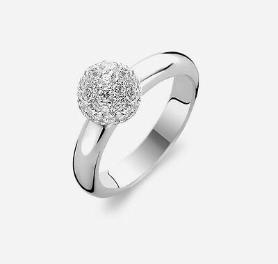 Ti Sento 1443ZI- 925 Sterling Silver Ring, RRP $149, Size 54