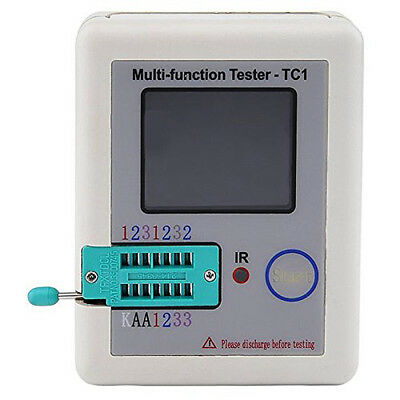 Multi-functional TFT Transistor Tester with 1.8 inch TFT Screen Display CGJ8