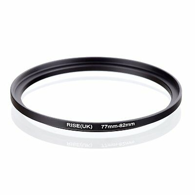 RISE(UK) 77-82MM 77 MM- 82 MM 77 to 82 Step Up Ring Filter Adapter