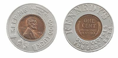 Kennedy's Wheat Penny 1958 - Good Clothes for good Boys