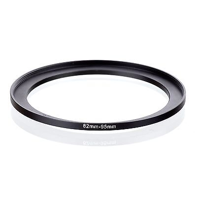 82mm-95mm 82-95mm 82mm to 95mm Step Up Ring Filter Adapter black 82-95