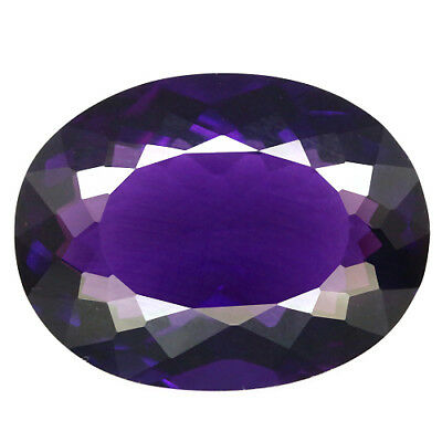 13.98 Ct Aaa! Purple Clr Change To Pink Amethyst Oval Brazilian Captivating