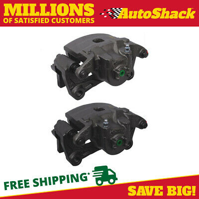 New Pair of Front Left and Right Disc Brake Calipers Set fits Nissan Altima Leaf