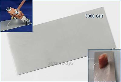3000Grit Diamond Plate Stone Knife Blade Sharpening Whetstone Sharpen Filing Pad