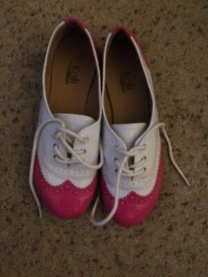 Pink And White Women's Dancing? Or Ballroom? Shoes Size 7 Kalli
