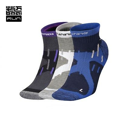 Unisex Socks Professional Compression Running Quick Dry Absorb Sweat Sock 6 Pair