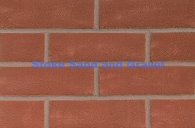 Ibstock Red Priory Rustic House Bricks 400 Pack New 65mm 37 Packs Available