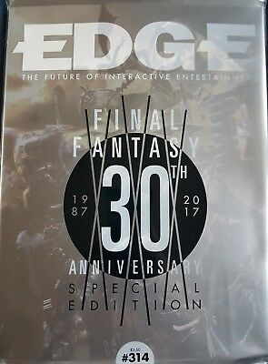 EDGE  ISSUE 314  JANUARY 2018  Final Fantasy 30th anniversary special Edition
