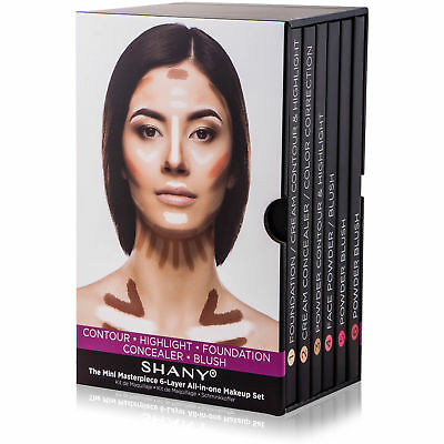 SHANY Mini Masterpiece Makeup Kit– Shaping, Highlighting  and Contouring Palette