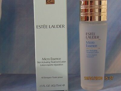 Estee Lauder Micro Essence Skin Activating Treatment Lotion 75ml Used once