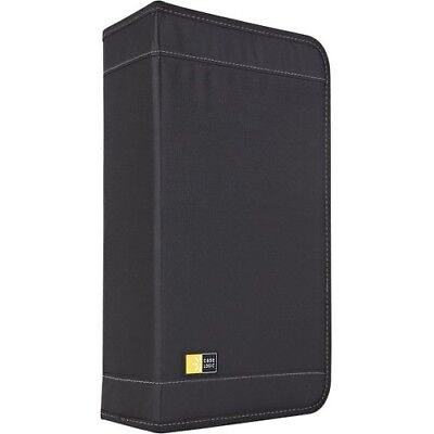 NEW Case Logic CDW92 92-Disc Nylon CD Wallet Optical Disc 92 Capacit