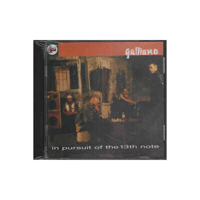 Galliano CD In Pursuit Of The 13th Note / Talkin' Loud ‎Sigillato 0042284849326