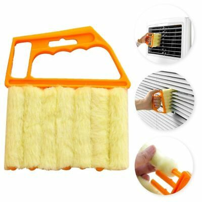 Microfibre Venetian Blind 7 Brush Window Air Conditioner Duster Dirt Cleaner