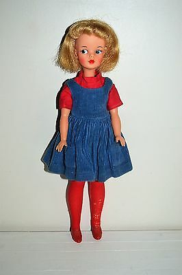 Vintage 1960's Ideal Tammy Doll & Original Clothing Cutie Coed Dress
