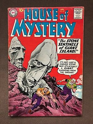 House of Mystery 85 VG- KIRBY cover and story 1959 glossy