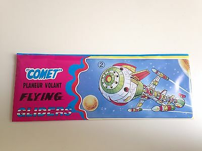 Captain Future - Comet, Planeur Volant, Flying Gliders, Styroporflieger