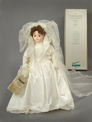 "Victorian Bride Doll by Seymour Mann, Audrey, 18"" Tall."