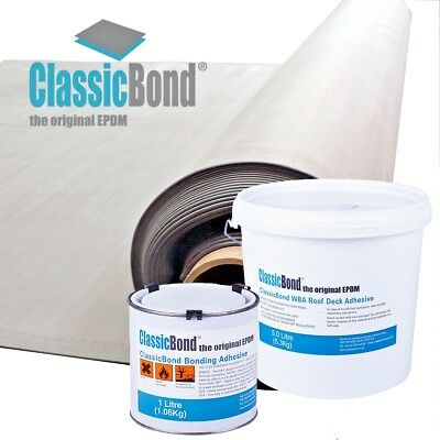Rubber Roofing Epdm Kit For Flat Roof 50 Year Life Multiple Sizes | Classicbond