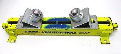 Sumner 780361 ST-502 Table Adjust-a-Roll With Ball Transfers Excellent USA Made