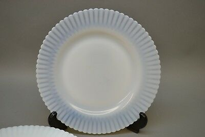 Lot 5 Macbeth Evans Monax Petalware Dinner Plates