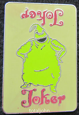 Disney Nightmare Before Christmas Playing Card Mystery Oogie Boogie Pin