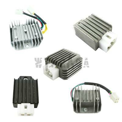 12V 6//4-Wire 4Pin Regulator Rectifier for GY6 QMB139 50-150cc Scooter Moped ATV