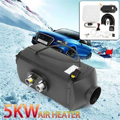 5000W 10L Air Diesel Heater 5KW 12V Silencer Duct for Car Truck Motor-home LU