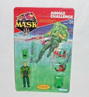 M.A.S.K Adventure Pack Set Jungle Challenge Matt Trakker Tracker Figur MOC MASK