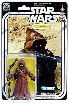 "Star Wars 40Th Anniversary Black Series 6"" Inch Jawa Figure"