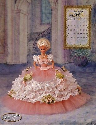 Annie Potter Royal Ballgowns Miss May 1997 Doll Crochet