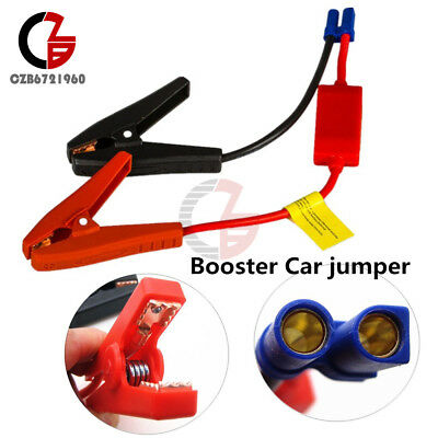 Replacement Jumper Jump Starter Cable Booster for 16800mah Mini Cars Trucks