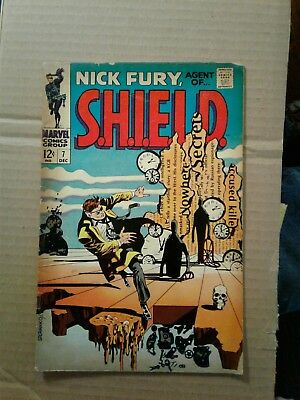 Nick Fury, Agent of SHIELD #7 (Dec 1968, Marvel)