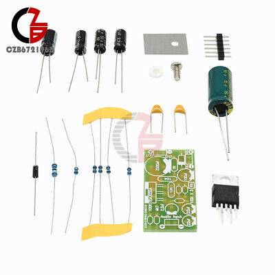 TDA2030A Electronic Audio Power Amplifier Board Mono 18W DC 9-24V DIY Kit
