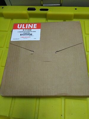"U-LINE S-11330 STAINLESS STEEL STRAPPING  3/4""  x .030 x 100'"